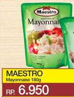Promo Harga MAESTRO Mayonnaise 180 gr - Yogya
