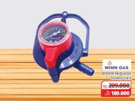 Promo Harga WINN Gas Regulator W-900M 1 pcs - Lotte Grosir