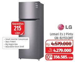 Promo Harga LG GN-B215 | Kulkas 2 Pintu SQMT  - Lotte Grosir