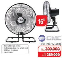Promo Harga GMC Desk Fan 715  - Lotte Grosir