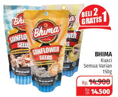 Promo Harga BHIMA Sunflower Seeds All Variants 150 gr - Lotte Grosir