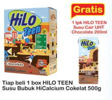 Promo Harga HILO Teen Chocolate 500 gr - Indomaret