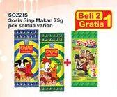 Promo Harga SO GOOD Sozzis All Variants 75 gr - Indomaret