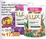 Promo Harga LUX Botanicals Body Wash Magical Orchid, Soft Rose, Bird Of Paradise 450 ml - Indomaret