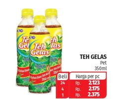 Promo Harga TEH GELAS Minuman Teh Alami 350 ml - Lotte Grosir