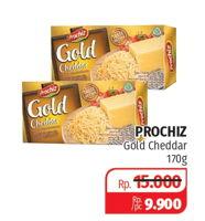 Promo Harga PROCHIZ Gold Cheddar 170 gr - Lotte Grosir