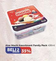 Promo Harga AICE Mochi per 2 box 438 gr - Carrefour