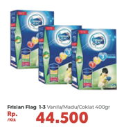 Promo Harga FRISIAN FLAG 123 Jelajah Madu, Cokelat, Vanila 400 gr - Carrefour