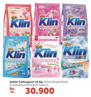 Promo Harga SO KLIN SO KLIN Softergent 1800gr  - Carrefour