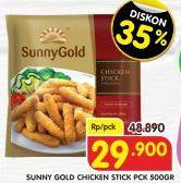 Promo Harga SUNNY GOLD Chicken Stick 500 gr - Superindo