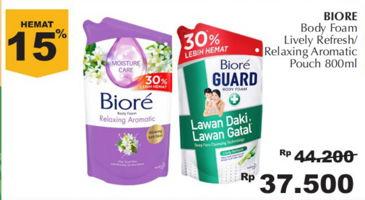 Promo Harga BIORE Biore Guard Body Foam Lively Refresh/Relaxing Aromatic  - Giant