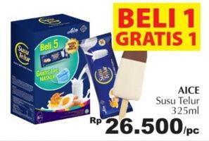 AICE Ice Cream 325 ml Harga Promo Rp26.500, Beli 1 Gratis 1, Giant Ekstra,Giant Ekspres