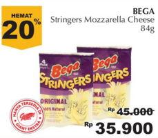 BEGA Stringers 84 gr Diskon 20%, Harga Promo Rp35.900, Harga Normal Rp45.000, Giant Ekstra,Giant Ekspres