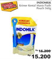 Promo Harga INDOMILK Susu Kental Manis Plain 560 gr - Giant