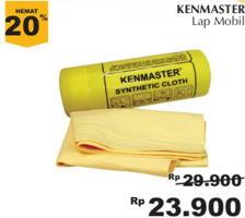 KENMASTER Lap Mobil  Diskon 20%, Harga Promo Rp23.900, Harga Normal Rp29.900, Giant Ekstra,Giant Ekspres
