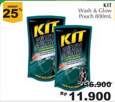KIT Wash & Glow 800 ml Diskon 30%, Harga Promo Rp11.900, Harga Normal Rp16.900, Giant Ekstra,Giant Ekspres