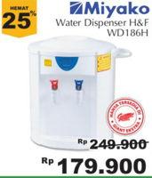 Promo Harga MIYAKO WD-186 H | Water Dispenser  - Giant