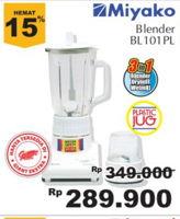 MIYAKO BL-101 Blender  Diskon 17%, Harga Promo Rp289.900, Harga Normal Rp349.000, Giant Ekstra,Giant Ekspres