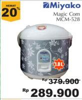 MIYAKO MCM 528   Magic Com  Diskon 24%, Harga Promo Rp289.900, Harga Normal Rp379.900, Giant Ekstra,Giant Ekspres