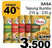 Promo Harga SASA Tepung Bumbu  - Giant