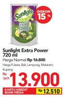 Promo Harga SUNLIGHT Pencuci Piring Extra Power With Biji Zaitun 720 ml - Carrefour