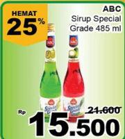Promo Harga ABC Syrup Special Grade 485 ml - Giant