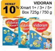 Promo Harga VIDORAN Xmart 1+/3+/5+ 725gr, 750gr  - Giant