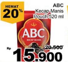Promo Harga ABC Kecap Manis 520 ml - Giant