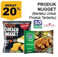 Promo Harga SO GOOD Chicken Nugget  - Giant