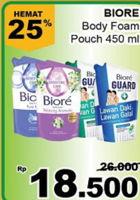Promo Harga BIORE Body Foam Healthy & Beauty 450 ml - Giant