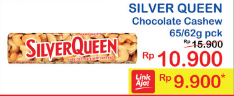 Promo Harga SILVER QUEEN Chocolate 62/65gr  - Indomaret