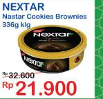 Promo Harga NABATI Nextar Cookies Brownies Choco Delight 336 gr - Indomaret