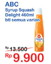 Promo Harga ABC Syrup Squash Delight All Variants 460 ml - Indomaret