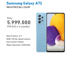 Promo Harga SAMSUNG Galaxy A72 All Variants  - Electronic City