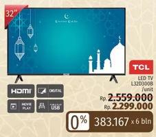 Promo Harga TCL L32D3000B   LED TV  - LotteMart