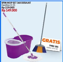 Promo Harga ECO Spin Mop  - Courts