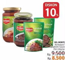 Promo Harga DEL MONTE Sauce Barbeque/Spaghetti 250-330g  - LotteMart