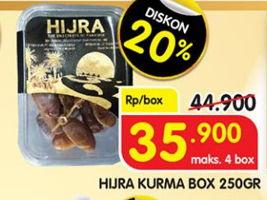 Promo Harga HIJRA Kurma 250 gr - Superindo