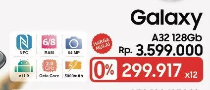 Promo Harga SAMSUNG Galaxy A32  - LotteMart