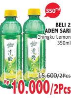 Promo Harga ADEM SARI Ching Ku Herbal Lemon per 2 botol 350 ml - Alfamidi