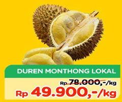 Promo Harga Durian Monthong Lokal  - TIP TOP