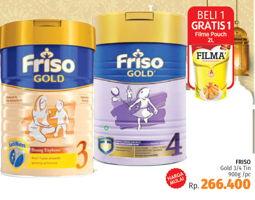 Promo Harga FRISO Gold 3/4 Susu Pertumbuhan 900 gr - LotteMart