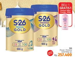 Promo Harga S26 Procal/Promise Susu Pertumbuhan 900 gr - LotteMart